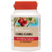 Rio Amazon Camu-camu 500mg extract 60 vegicaps