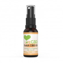 Love CBD 500MG Dutch CBD Oil Spray