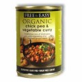Free & Easy Organic Chick Pea & Vegetable Curry 400g