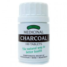 Braggs Medicinal Charcoal Tablets 100t
