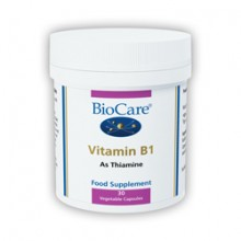 Biocare Vitamin B1 30 Vegetable Capsules