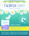 Natracare Ultra Pads Long with Wings x 10