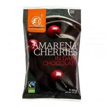 Landgarten Organic Cherries in Dark Chocolate 50g