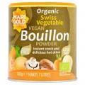 Marigold Organic Reduced Salt Vegetable Bouillon 140g