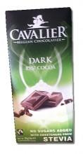 Cavalier Stevia Belgian Dark Chocolate bar 85g