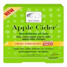 New Nordic Apple Cider 60 Tablets