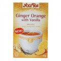 Yogi Tea Organic Ginger Orange with Vanilla, 17 bags