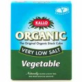 Kallo Organic Very Low Salt Vegetable Stock Cubes 66g