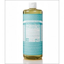 Dr Bronners Baby Mild Castile Liquid Soap 1000 ML