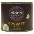 Biona Organic Coconut Milk, 17% Fat 200ml