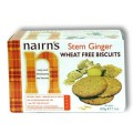Nairn's Stem Ginger Wheat Free Biscuits 200g