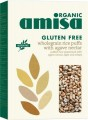 Amisa Organic Whole Rice Puffs with Agave Nectar 225g