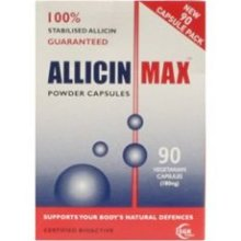 AllicinMax 100% Pure Allicin Vegicaps 90