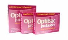 OptiBac Probiotics Saccharomyces boulardii 80s