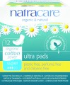 Natracare Ultra Pads Super with Wings x 12