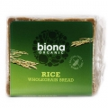 Biona Organic Rice Bread 500g