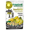Tropical Wholefoods Chewy Bananas Chips 150g