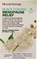 Higher Nature Black Cohosh Menopause Relief 30tabs